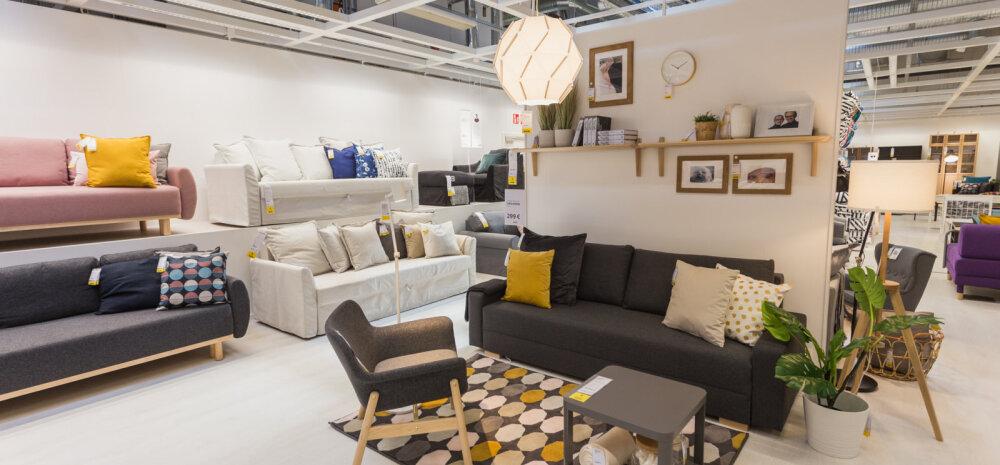 FOTOD   IKEA avas Eestis e-poe ja väljastuspunkti