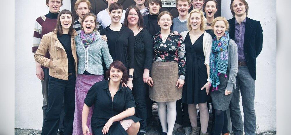 Lavakunstikooli lõpetajad kolivad lõpuks koolist teatritesse