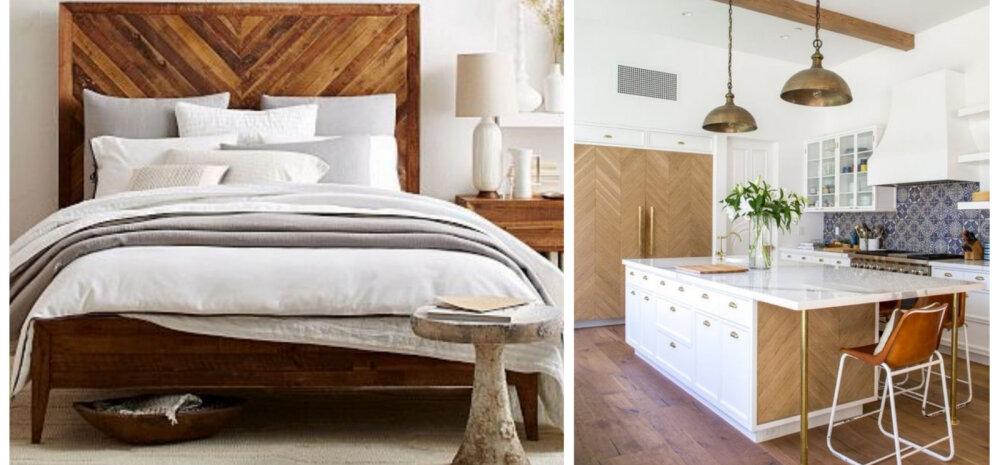 Kalasabaparkett sobib mujalegi kui ainult põrandale — vaata inspireerivaid ideid!