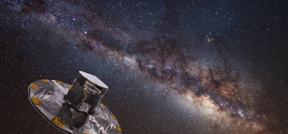 Fototöötlus: ESA/ATG medialab; taust: ESO/S. Brunier
