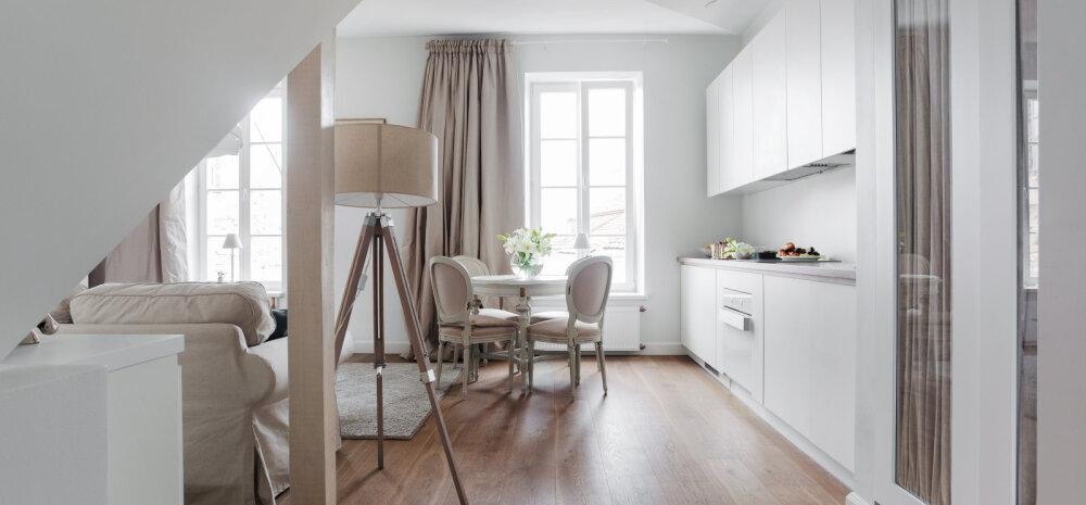 Kolm kavalat nippi, mille abil väike kodu näiliselt suuremaks muuta