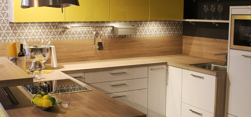 ИДЕИ │ Дизайн маленькой кухни: какой цвет выбрать