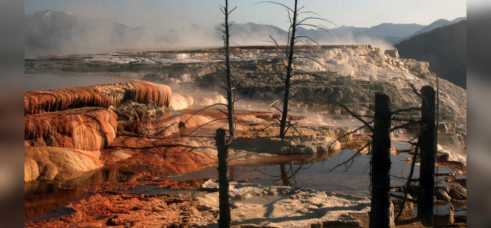 Yellowstone'i supervulkaan võib olla hoopis jõudu kaotamas