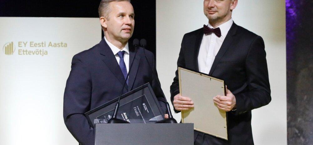 Arno Kütt (vasakul) ja Peep Kuld.