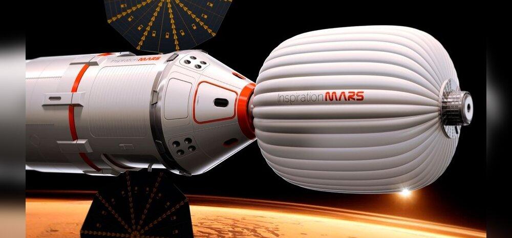 Lennuks viie aasta pärast Marsini otsitakse vanemat paari