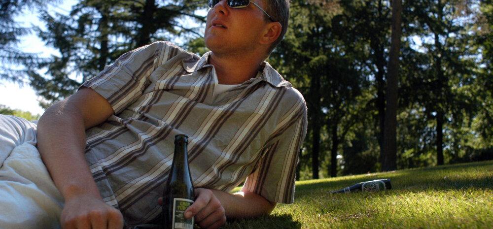 Uus uuring alkoholi kohta: juba minimaalne õlle tarbimine tekitab kõhurasva ja tekitab piinlikke probleeme hormoonidega