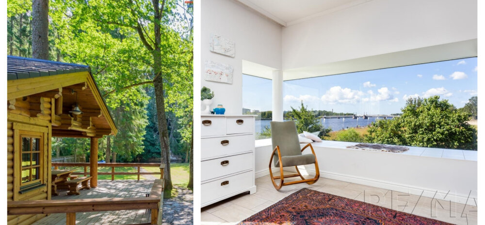FOTOD | Viis kaunist jõekaldale rajatud kodu
