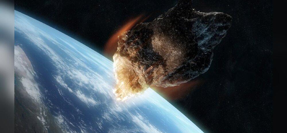 Asteroid avastati hetk enne Maaga kokkupõrget