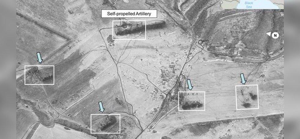 Vene vägede pealetungist avaldati satellidipildid