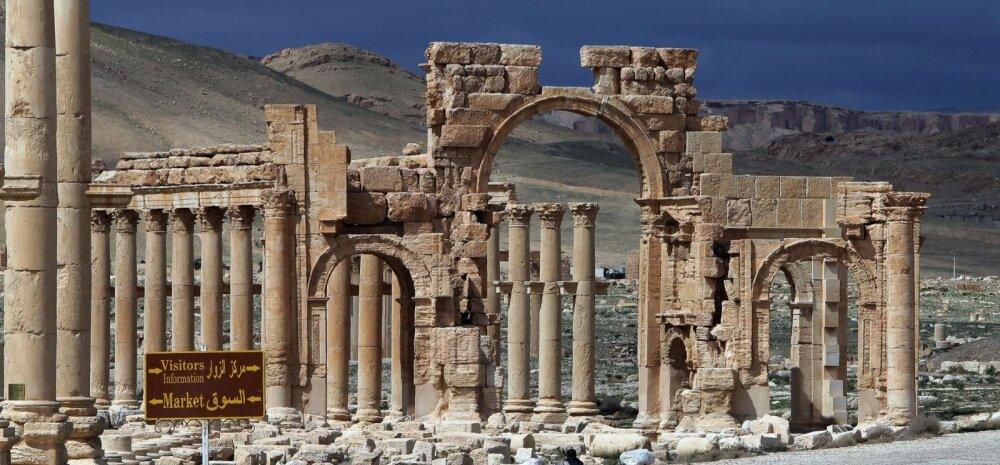 Meedia: Islamiriik korraldas Palmyras massimõrva