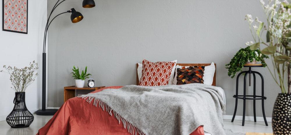 Levinud kujundusviga magamistoas, mis võib rikkuda rahuliku une