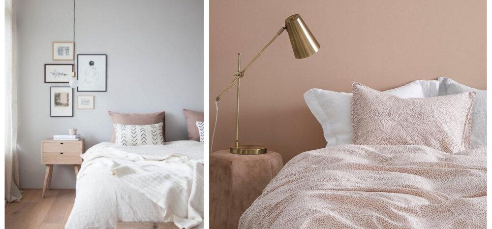 Milliste värvidega kujundada mõnusalt rahulik magamistuba?