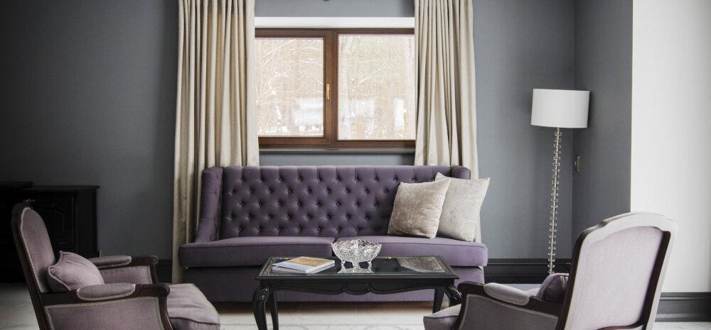 ФОТО | Гламурный дом известного эстонского юриста в Пирита: интерьер в парижском стиле и шампанское на подоконнике