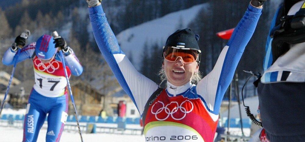 Kristina Šmigun-Vähi Torino olümpial