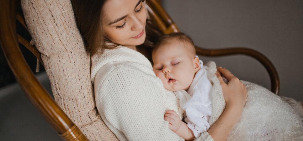 Miks beebi kõht valutab ja kuidas teda aidata?