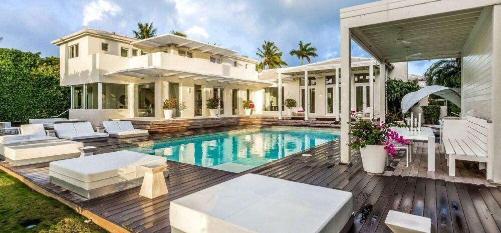 FOTOD│ Heida pilk lauljatar Shakira luksuslikku Miami villasse