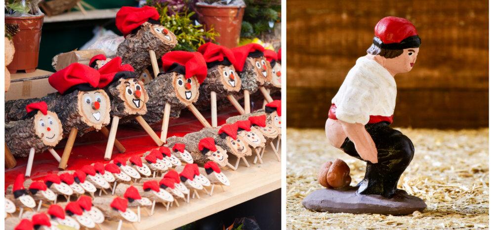Eestlaste jõulud välismaal: Kataloonias on aukohal jõuluhalg ja jõulusõime kaunistatakse kakaja kujukesega
