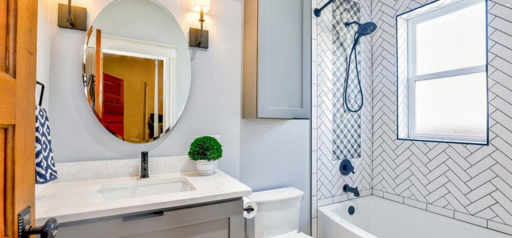 Viis levinumat probleemi vannitoas. Kuidas neid parandada?