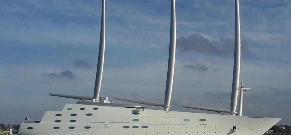 Yacht A on liiga kõrge ning ka süvis ei sobi. Kuidas miljardär Läänemerelt ära pääseb?