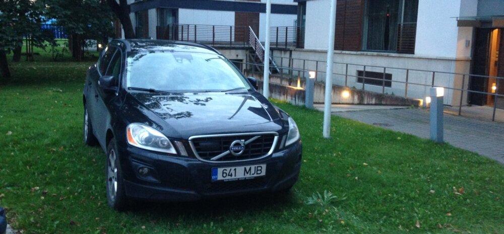 FOTO: Haljasalal parkija küsis märkuse tegijalt, milliseid alternatiive ta pakub