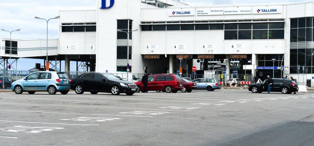 Parkimine sadamas