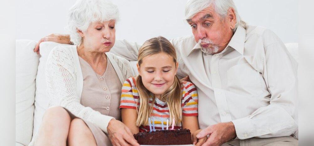 Pühapäeval on vanavanemate päev: kirjuta meile kõige meeldejäävamast asjast, mida sina või sinu lapsed on koos vanavanematega teinud!