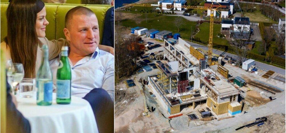 ФОТО | Кризис нипочем? Известный мультимиллионер строит в Виймси одну из самых больших вилл Эстонии