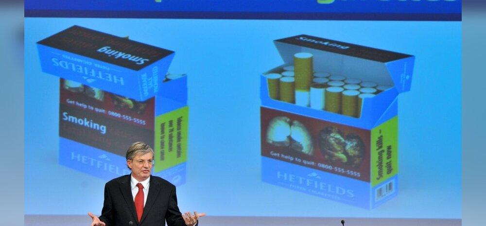 Euroopa Parlament toetas mentoolsigarettide keelamist ja suuri pilthoiatusi sigaretipakkidel