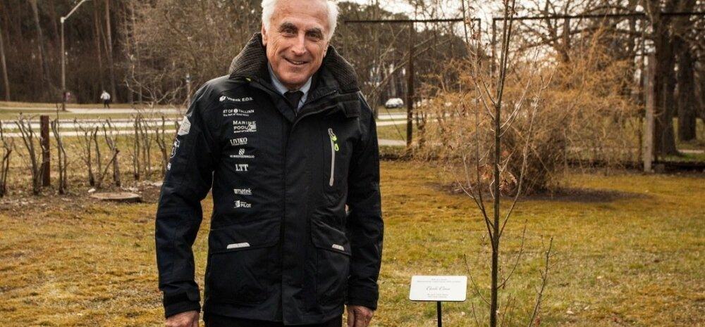 Rahvusvahelise Purjetamisliidu president Carlo Croce külastas Kalevi Jahtklubi