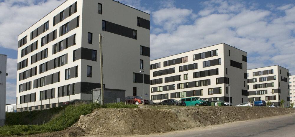 Цены на квартиры в Таллинне выше, чем в период экономического бума
