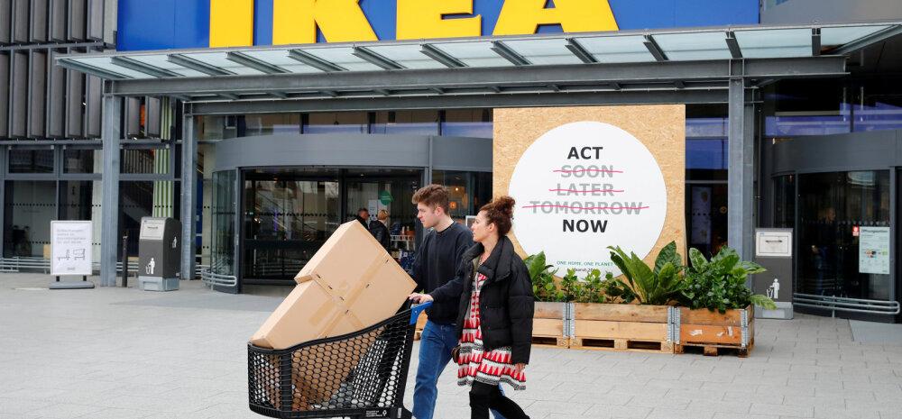 Магазин IKEA в волости Раэ откроется не раньше 2023 года