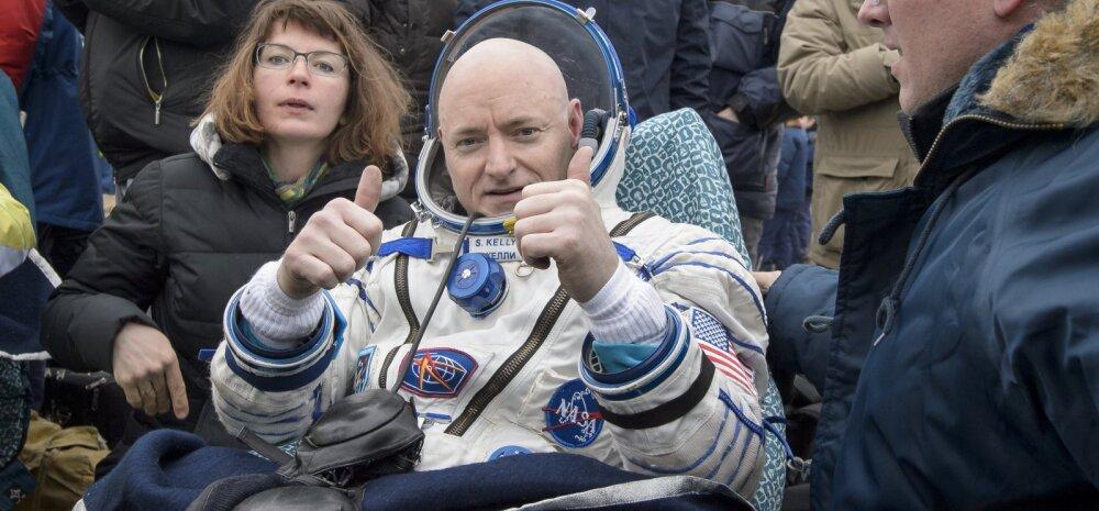 Ikkagi, kuidas astronaut 340 päevaga kosmoses viis sentimeetrit pikemaks kasvas?