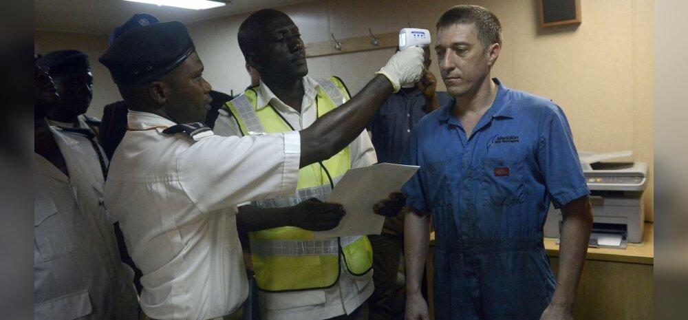 Kas tõesti on termomeetritega reisijaid tervitades võimalik ebolat eemal hoida?