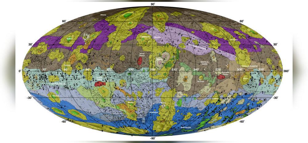 Nüüd on meil olemas ka põhjalik kaart suurest asteroidist Vesta