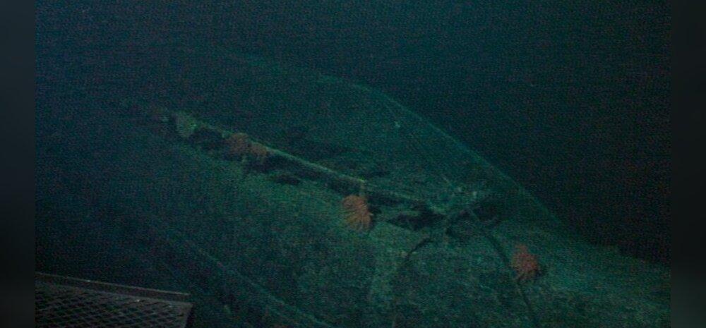 VIDEO: Hawaii lähedalt avastati Teise maailmasõja aegse Jaapani superallveelaeva vrakk