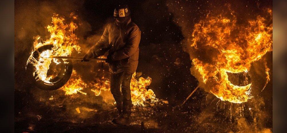 Kiievisse saabusid väidetavalt Vene eriväelased, kes hakkavat meeleavaldusi laiali peksma