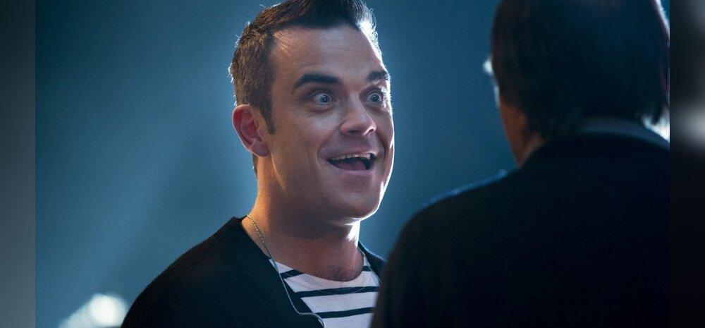 Passi peale! Esmapäeval kell 10 paisatakse vabamüüki Robbie Williamsi kontserdi piletid!