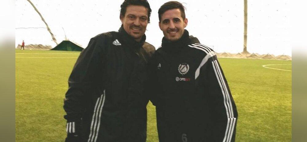 Jari Litmanen ja Jorge Rodrigues