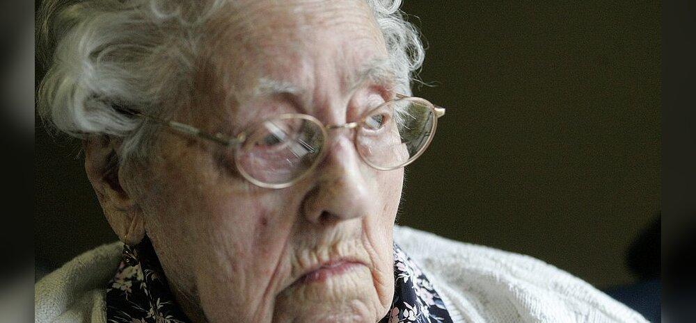 Maailma vanim naine suri vaid kaks nädalat pärast tiitli saamist!