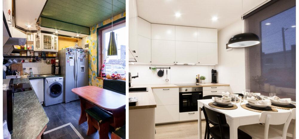 ENNE JA PÄRAST | Ühe köögi totaalne muutumine