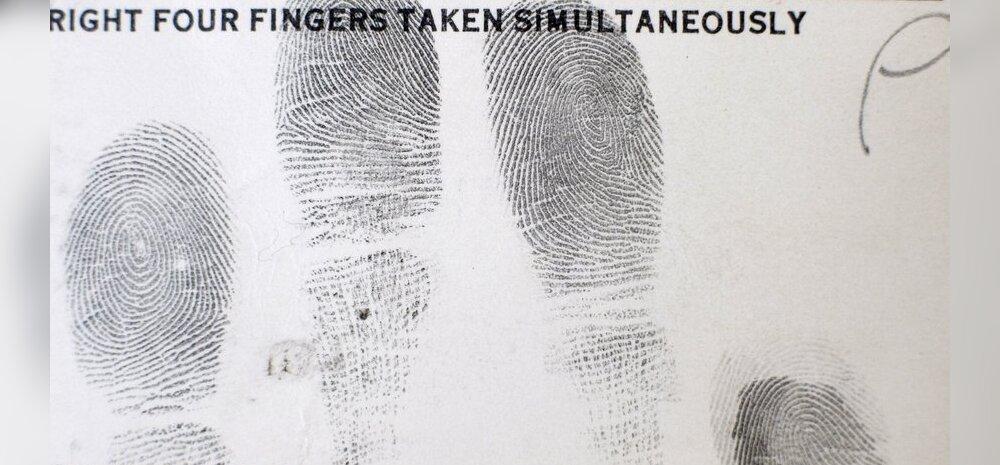 Ei mingit luuramist! Rootsi sõrmejälgede register muutub USA jaoks vabalt ligipääsetavaks