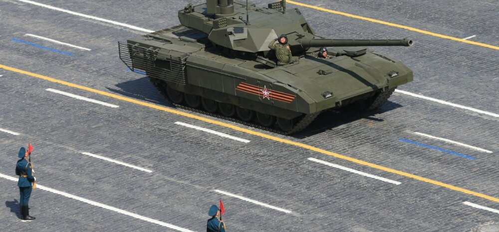 Tegelikkus Vene relvastuse seisust: vanad tankid on eluohtlikud ja uued olemas vaid paberil