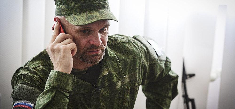 Ida-Ukrainas tapeti tuntud separatistide komandör