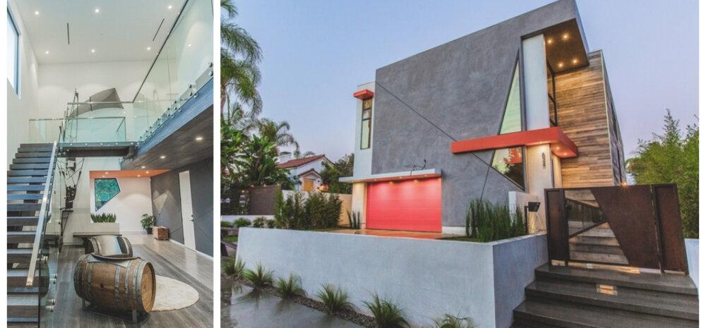 ФОТО   Вот это геометрия! Необычный дом с ломаными линиями
