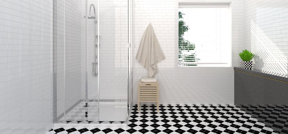 Väärt nippe, kuidas vannitoa klaaspinnad säravpuhtaks saada