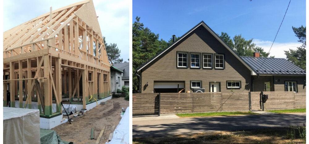 9ebf24f8697 KODUBLOGI | Kui palju läheb ühe maja ehitamine maksma, kui kõik ise teha?  Foto: Minu Kodu blogi