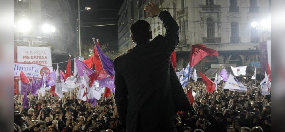 Valimisvõitu sihtivate Kreeka vasakradikaalide juht lubas rahvusliku alanduse lõppu