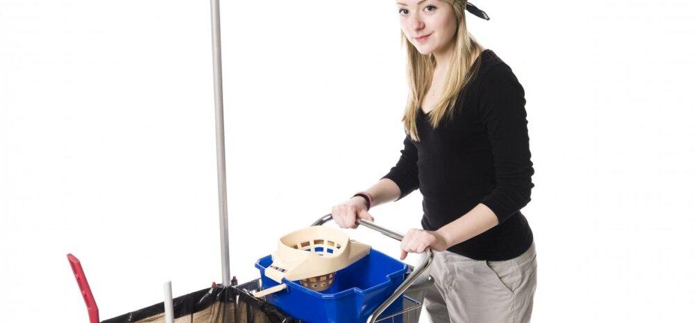 Õnnelik naine: olen doktorikraadiga koristaja ja oma eluga rahul!