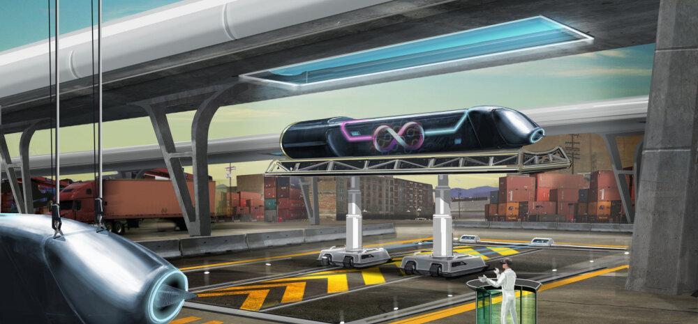 Analüüs Ameerikast: Rootsi ja Soome vahel võiks <em>hyperloop</em> end ära tasuda
