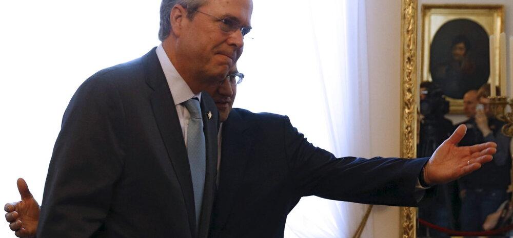 Homme Eestit külastav Jeb Bush: väljaspool abielu sünnitavad naised tuleks panna avalikku häbiposti!